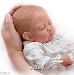 Ashton Drake Sweet Dreams Maddie Breathing Poseable Baby doll