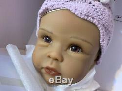 Ashton Drake Tiana Baby Doll Goes To Grandmas By Linda Murray