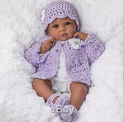 Ashton Drake Tiana Goes To Grandmas Poseable Weighted Baby Doll