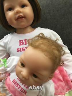 Ashton Drake/W. Hanl A Sisters Love So Truly Real Signature Edition Doll Set
