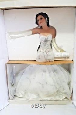 Ashton Drake Wedding under a Shadowed Pergola Doll 18 Cindy McClure New Brides