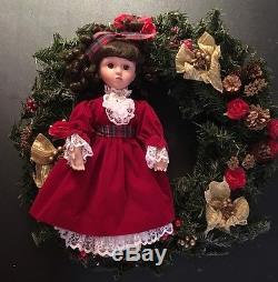 Ashton-Drake Wreaths & Dolls