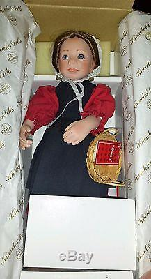 Ashton Drake and Amish Blessings Doll Collection 9 total Dolls New in box