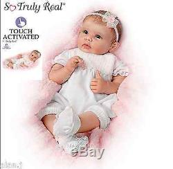 Ashton Drake doll Olivia Lifelike interactive Baby Newborn