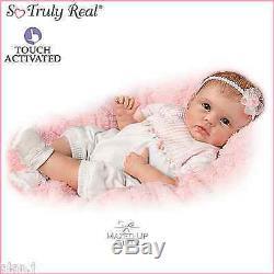 Ashton Drake doll Olivia Lifelike interactive Baby Newborn Girl