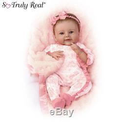Ashton Drake lifelike baby doll Megan Rose Posable Weighted