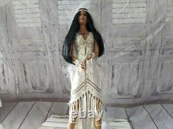 Ashton Drake love takes wings June bride native American doll