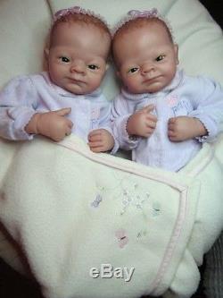 Ashton Drake so truly real precious twin girls by Linda Webb