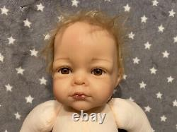 Ashton drake Elly Knoops So Truly Real Jackson Doll RARE (Used For Baby Shows)