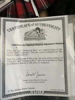Ashton drake delilah Noir Class Act And Violaceous Rave Doll