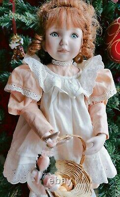 Ashton-drake doll, Peaches and Cream by artist Dianna Effner