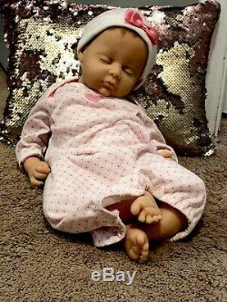 Ashton drake doll so truly real Sweet Dreems Sarenity Baby Girl Partly Silicone