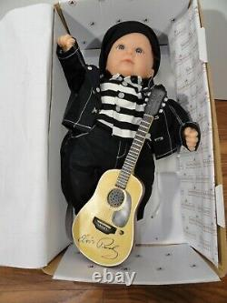 Asthon Drake Baby Boy Vinyl Soft Doll Elvis Presley Baby By Ping Adg, 17 Size