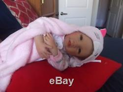 Asthon Drake Reborn Real Baby Artist Waltraud Hanl