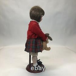 Authentic handcrafted porcelain doll Schoolgirl Jenny By Dianna Effner 15