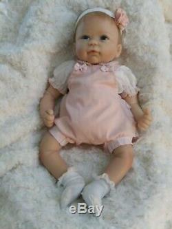 Ava Lifelike Silicone Baby Doll by Linda Murray Ashton-Drake