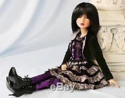 BNIB Delilah Noir 16 BJD Doll Class Act & Violaceous Rave Ashton Drake RARE