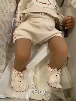 Baby Raven Wing Sandy Faber Ashton-Drake Galleries Native American
