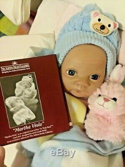 Beautiful Baby Martha Viola Ashton Drake. By Linda Webb Rare Takes A Pacifier