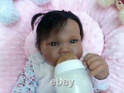 Beautiful Ethnic Baby Doll Ashton Drake 18 by Sandy Faber