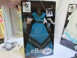 Big Lot of Gene Dolls, Fashion Outfits, Dress Forms and Doll Case Most MIB