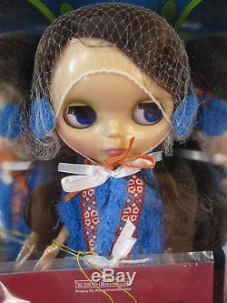 Blythe Kozy Kape Blythe Doll Minty NIB 2007 Hasbro/Ashton Drake Orig Mailer Box