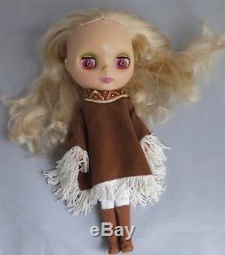 Blythe doll Ashton Drake Pow Wow Poncho EUC Lovely lady