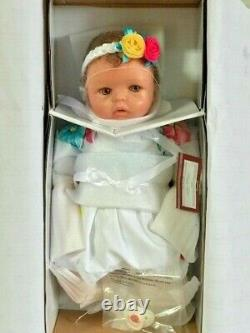 Bradford Exchange Cheryl Hill Pretty And Petite Presley Silicone Baby Doll AS IS