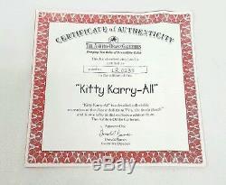 Brady Bunch Kitty Karry All Collectible Recreation 18 Doll Ashton Drake 2002