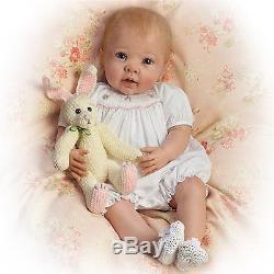 Bunny Hugs Ashton Drake Doll By Linda Murray 20 inches