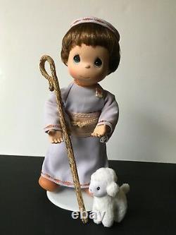 COMPLETE 10 piece Ashton Drake Precious Moments Nativity Mary Joseph Wise Men