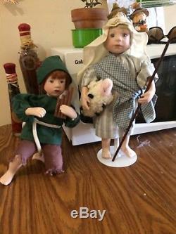 Complete Ashton-drake Nativity Doll Set