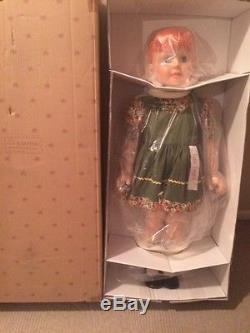 Carrot Top Patti Playpal Doll NRFB Redhead Ashton Drake LifeSize Reproduction
