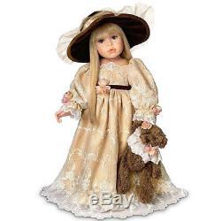 Catherine 24 Elegant Victorian Doll by Linda Rick Ashton-Drake