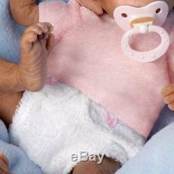 Coco So Truly Real Lifelike, Realistic Newborn Baby Monkey Doll 16-inches by