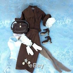 Cocoa Crisp Gene Integrity with OOAK Bridal Gown and Original Outfit