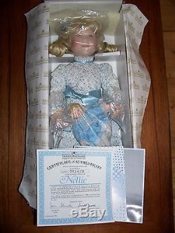 Complete Set of 8 LITTLE HOUSE ON THE PRAIRIE DOLLS Ashton Drake MIB + COA Doll