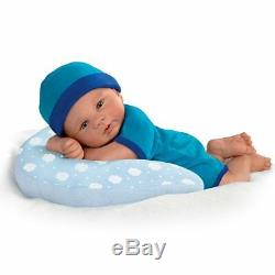 Cuddle Buddy 17'' Baby Doll with Pillow by Ashton Drake new