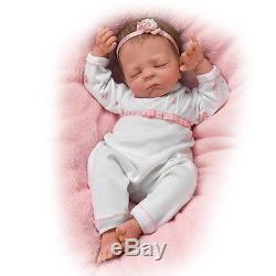 Cuddle Caitlyn So Truly Real Lifelike Baby Girl Warming Feature Ashton Drake