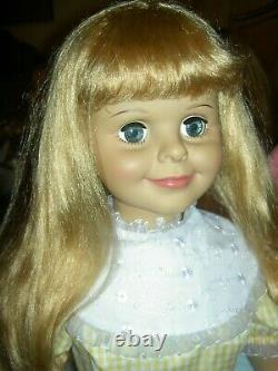 DADDY'S GIRL DOLL 40 INCH (IDEAL) PLAYPAL SIZE by Ashton Drake (all original)