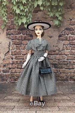 Designer Inspired Silk Gingham Dress Gene Madra Tyler