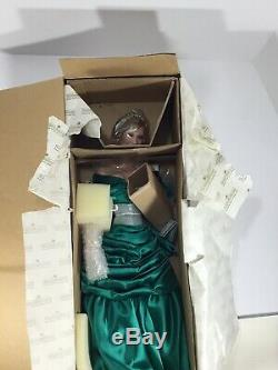 Diana Princess of Wales in Royal portrait limited edition doll Ashton Drake COA