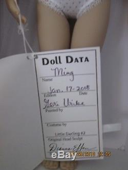 Dianna Effner 13 DOLL painted by G. Uribe (Ming Jan 2018 never out of box)