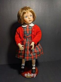 Dianna Effner 15 porcelain School Girl Jenny for Ashton Drake Dolls