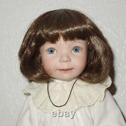 Dianna Effner Artist for Ashton Drake Galleries Bedtime Jenny Porcelain Doll 15