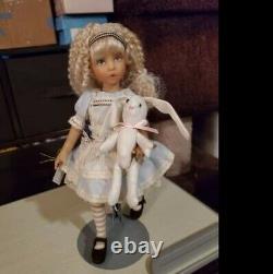 Dianna Effner/ Ashton Drake Alice In Wonderland BJD doll