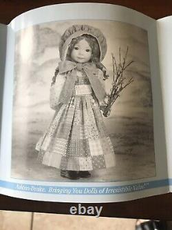 Dianna Effner Holly Hobby Autum Porcelain Collectible Doll