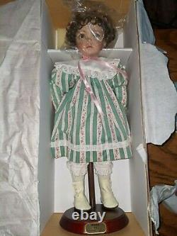 Dianna Effner Porcelain Doll Emily Ashton Drake 15 inches