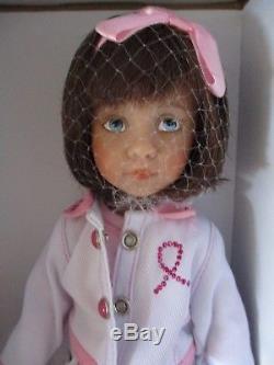 Dianna Effner Sisters Walk for Cure 12 Vinyl Doll, Ashton Drake, Little Darling