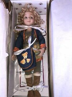 Dianna Effner Vinyl Jointed Doll ashton drake rare doll